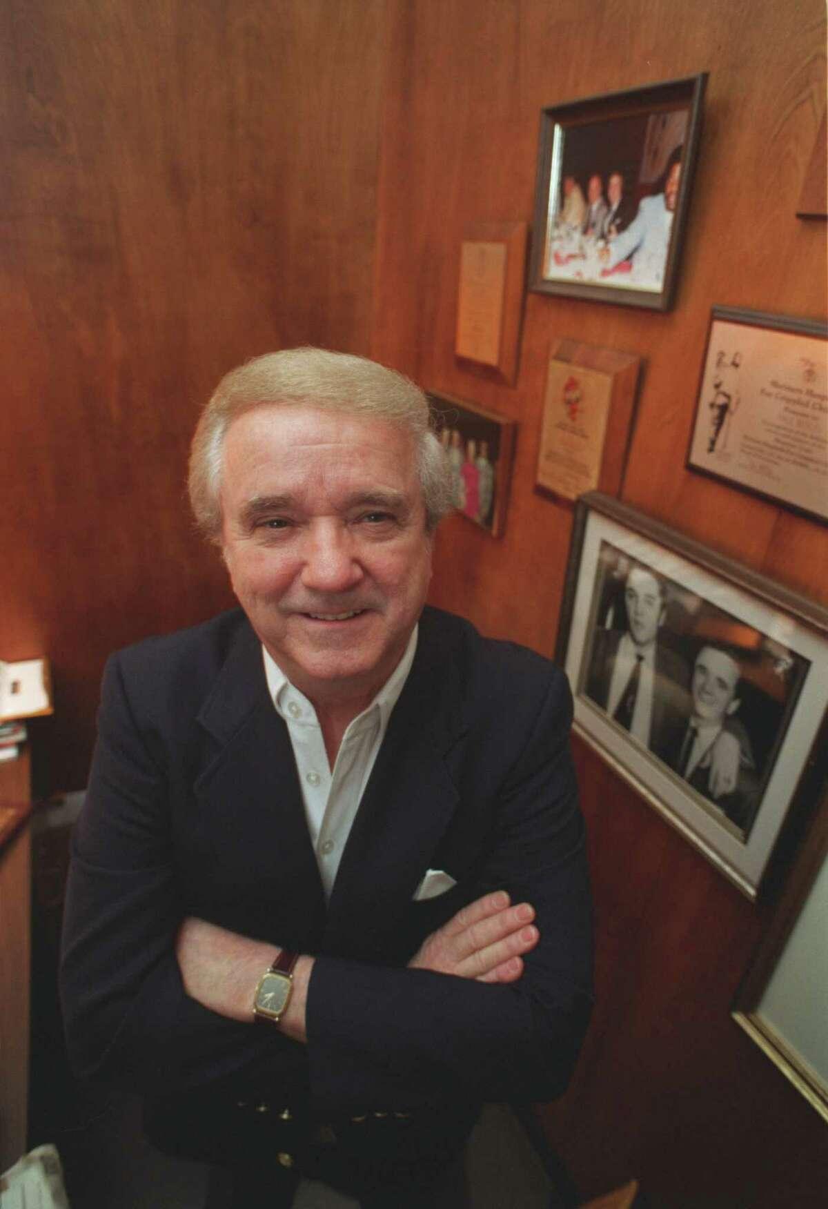 Paul Berlin in his office 1995