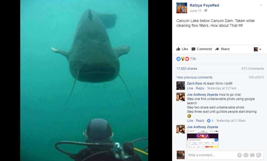 simple image search debunks viral 39 lake