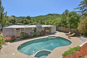 A four-bedroom, two-bath San Rafael Eichler on a 10,158-square-foot-lot is on the market for $1.4 million.