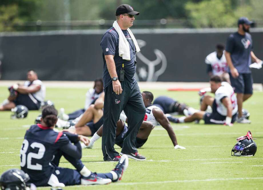 Houston Texans head coach Bill O'Brien walks across the field during OTAs at The Methodist Training Center on Wednesday, May 31, 2017, in Houston. ( Brett Coomer / Houston Chronicle ) Photo: Brett Coomer, Staff / © 2017 Houston Chronicle