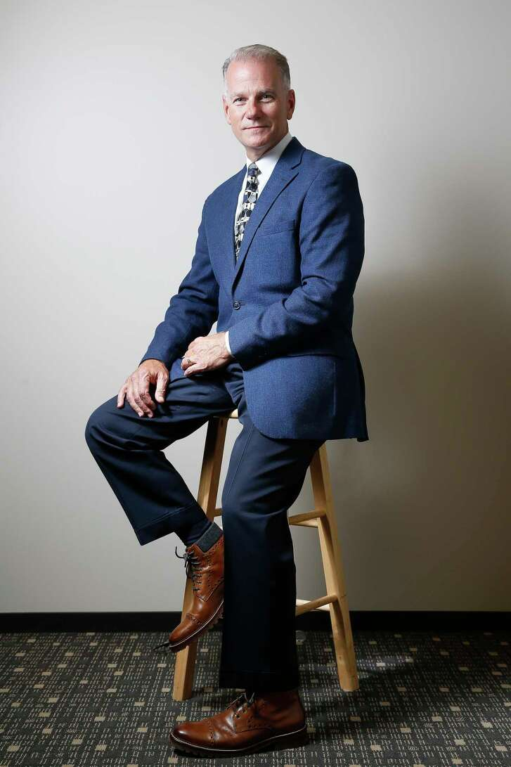 Memorial Hermann Medical Group CEO Dr. David James, the creator of a new initiative called Everyday Well, sits for a portrait Thursday, June 8, 2017 in Houston. ( Michael Ciaglo / Houston Chronicle )