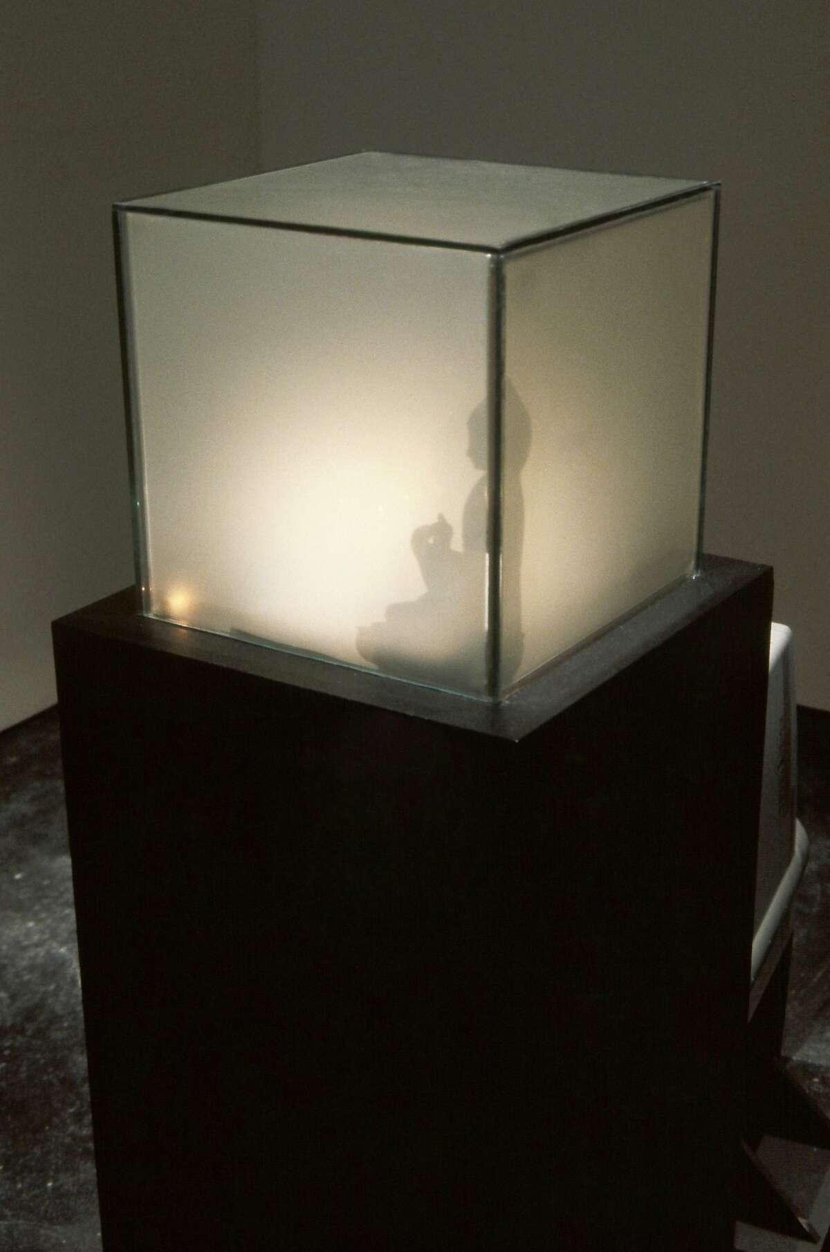"Jim Campbell, ""Untitled (for Heisenberg)"" (1994-95) �SECA SHOW WORK"