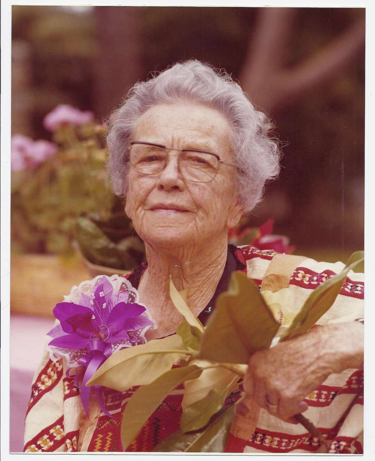 Ethel Wilson Harris was president of the San Antonio Conservation Society from 1951-53.