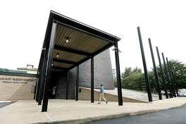 Exterior of the Holocaust Museum Houston before the start of its major expansion. ( Karen Warren / Houston Chronicle )