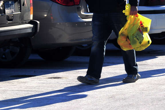 Texas Attorney General Ken Paxton recently filed an amicus brief asking the Texas Supreme Court to affirm a lower court's decision against Laredo's plastic bag ban. If Paxton has his way, the state's highest court would effectively forbid Texas cities from regulating or banning plastic shopping bags.  (Photo by Christian Abraham)