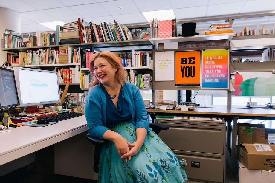Bridget Watson Payne is a senior editor for Chronicle Books, which lives by its motto of seeing things differently. Photo: Peter Prato, Special To The Chronicle