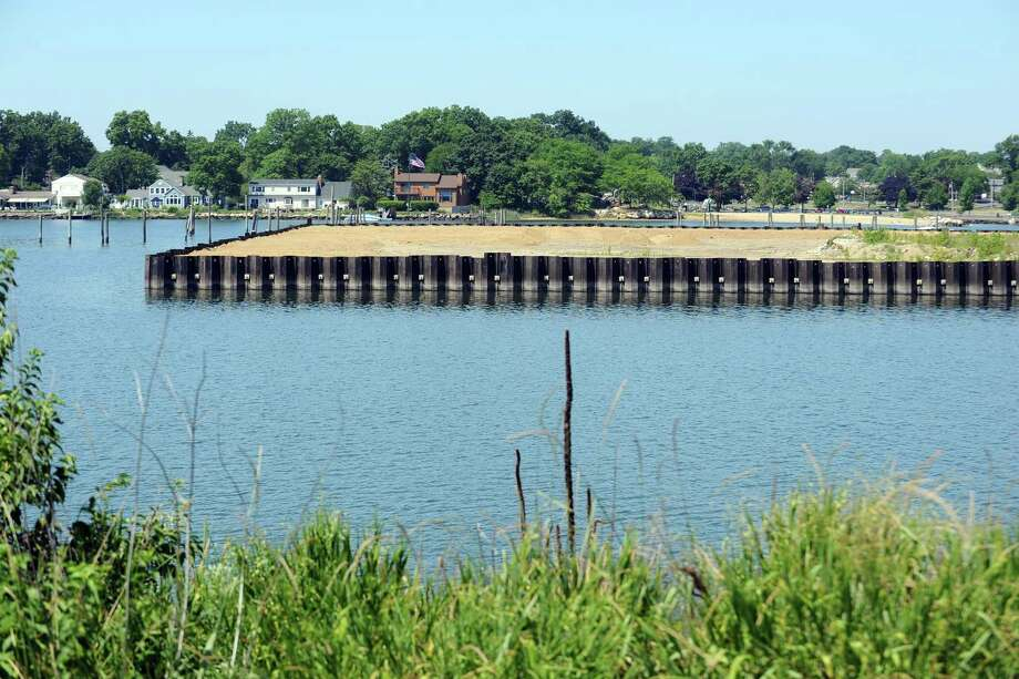 FILE — The tip of the vacant peninsula of Cook Point. Photographed on Thursday, July 21, 2016. Photo: Michael Cummo / Hearst Connecticut Media / Stamford Advocate