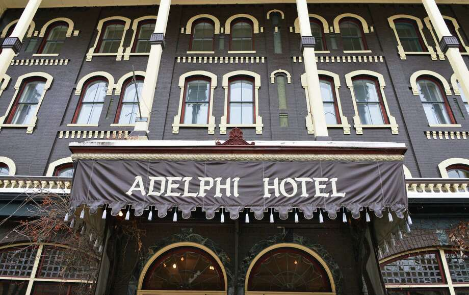 The Adelphi Hotel in Saratoga Springs hosts a pre-renovation estate sale on Wednesday, Jan. 9, 2012.  (John Carl D'Annibale / Times Union archive) Photo: John Carl D'Annibale / 00020713A