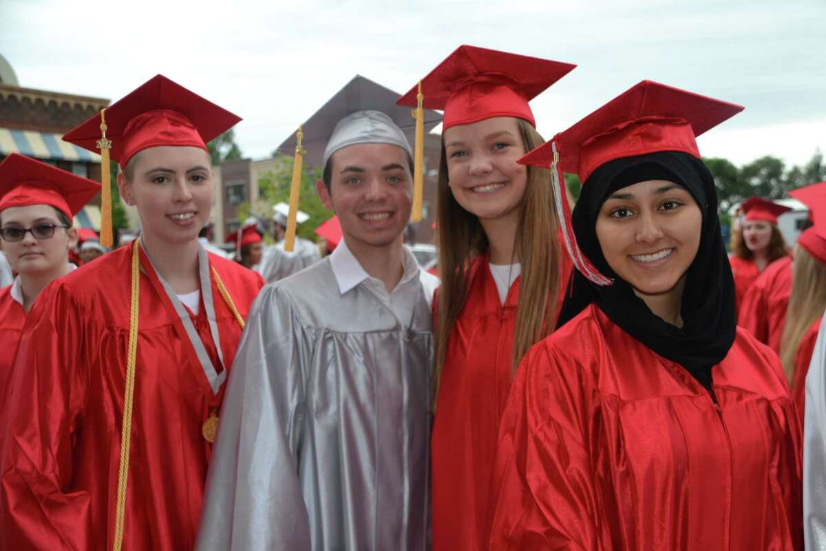 Click through the slideshow to learn more about the future plans of college graduates in some local school districts .