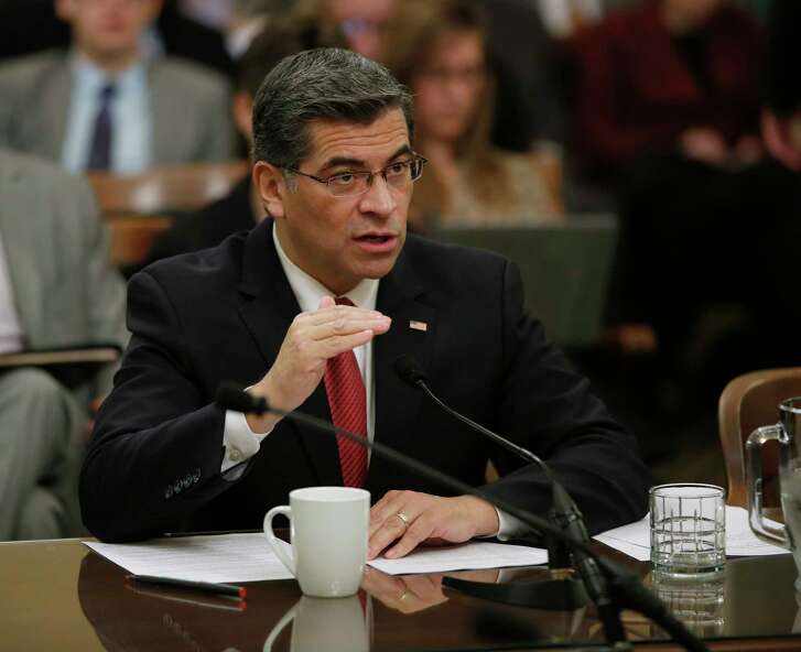 California Attorney General Xavier Becerra on Thursday added Texas to a list of seven other states where California-funded travel is prohibited.