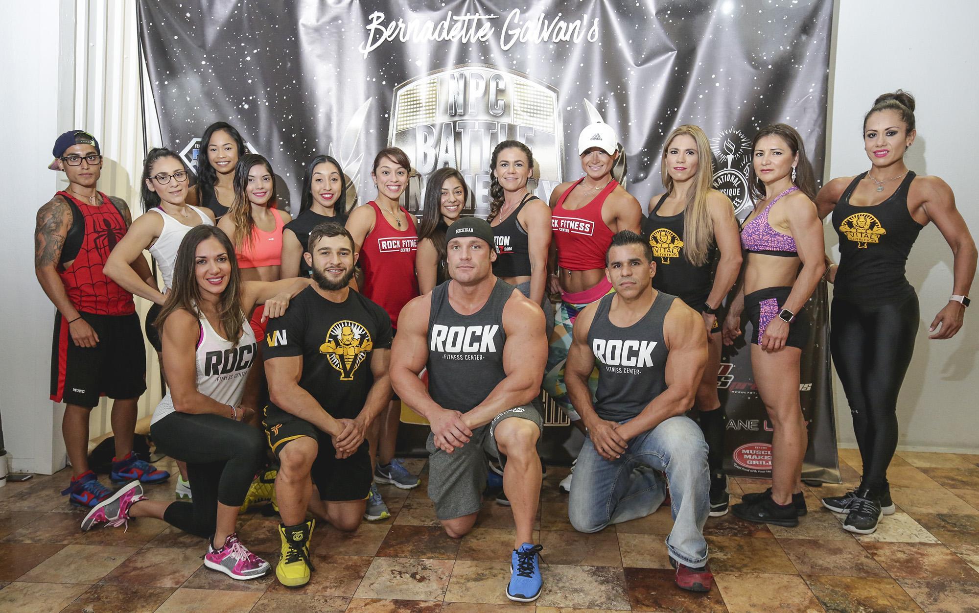 Local Fitness Center Hosts Battle Royale Event San