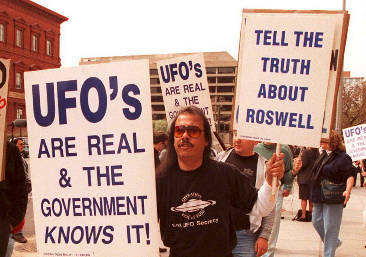 """Nearly 20 years ago, the U.S. Air Force released a """"nail in the coffin"""" report on the Roswell incident in an attempt to put the UFO rumor to rest. 70 years after the incident, the far-fetched alien story continues to nurture UFO culture. Clickthrough to see most critically acclaimed alien movies of all time."""