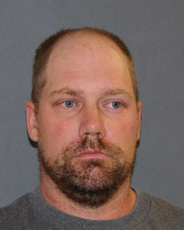 William Korb, 39, of Cambridge, is accused of getting angry and ramming his pickup into a sedan in Washington County on Friday night.