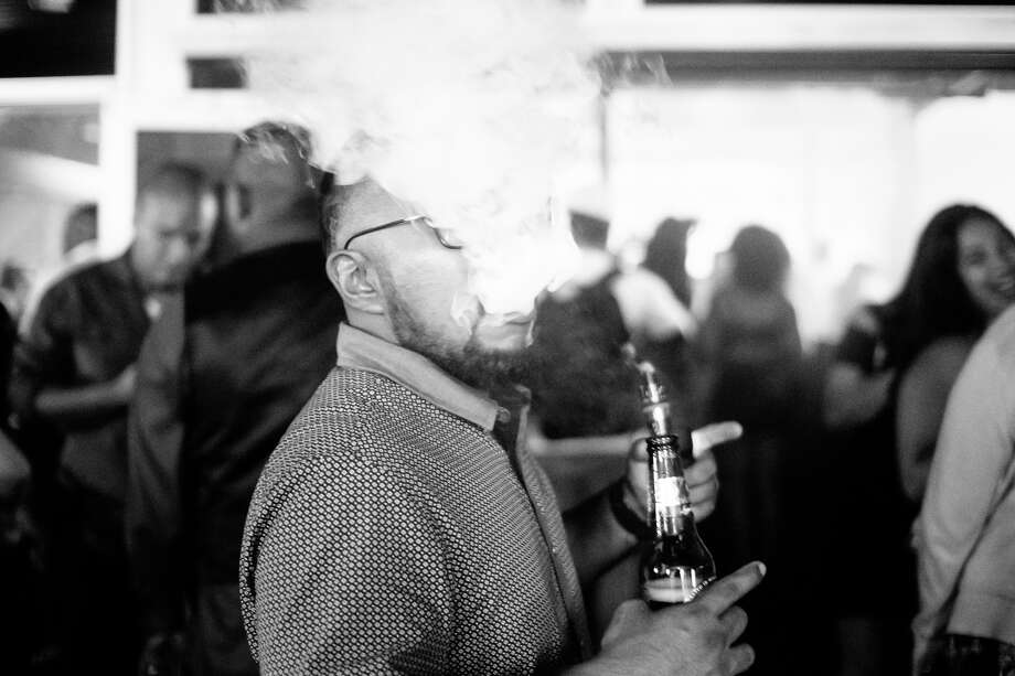 Live Ultra Lounge hosted a special party Friday night, June 23, 2017, for former Spur George Hill that included various DJs and other NBA guests. Photo: Chavis Barron For MySA