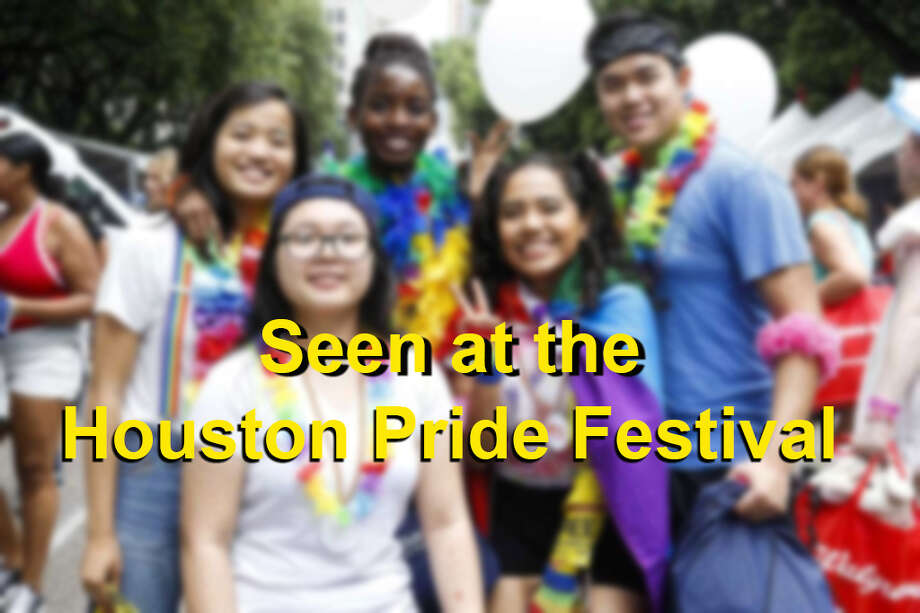 The Houston Pride Festival kicked off at noon Saturday, June 24, 2017, despite widespread thunderstorms and flood threats around the area.Click through to see who turned out for the weekend's activities. Photo: Michael Ciaglo / Houston Chronicle