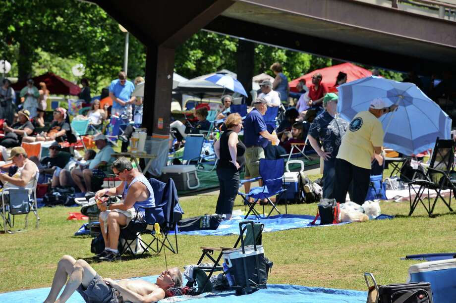 Jazz fans pack the SPAC lawn for FreihoferOs Saratoga Jazz Festival Saturday June 24, 2017 in Saratoga Springs, NY.  (John Carl D'Annibale / Times Union) Photo: John Carl D'Annibale / 20040883A