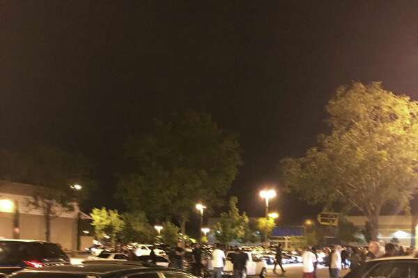 Five people were arrested in Santa Rosa Friday night after police conducted an operation to shut down a sideshow at a business parking lot, police said.