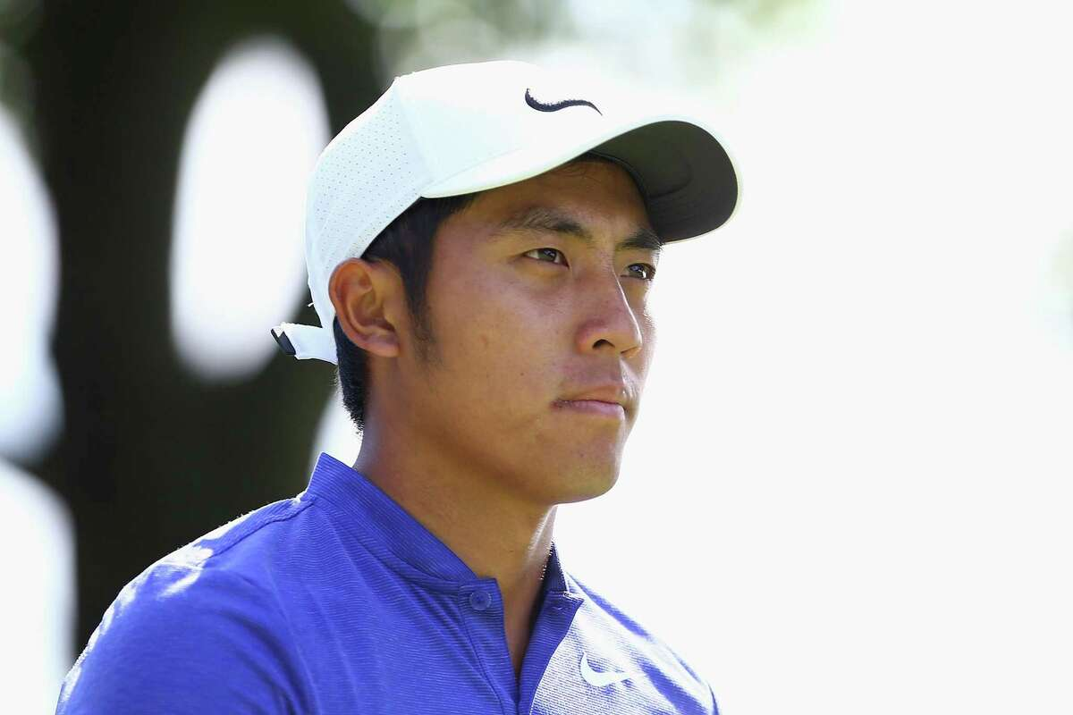 CROMWELL, CT - JUNE 24: C.T. Pan of Taiwan walks on the ninth hole during the third round of the Travelers Championship at TPC River Highlands on June 24, 2017 in Cromwell, Connecticut. (Photo by Tim Bradbury/Getty Images)