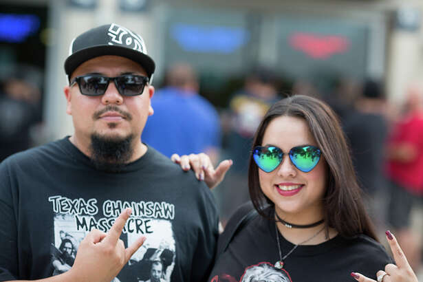 Barely a week after Metallica rocked San Antonio, area metal heads were treated to some Iron Maiden as the '80s rockers shook the pillars of the AT&T Center with a mix of classic hits and new tunes.