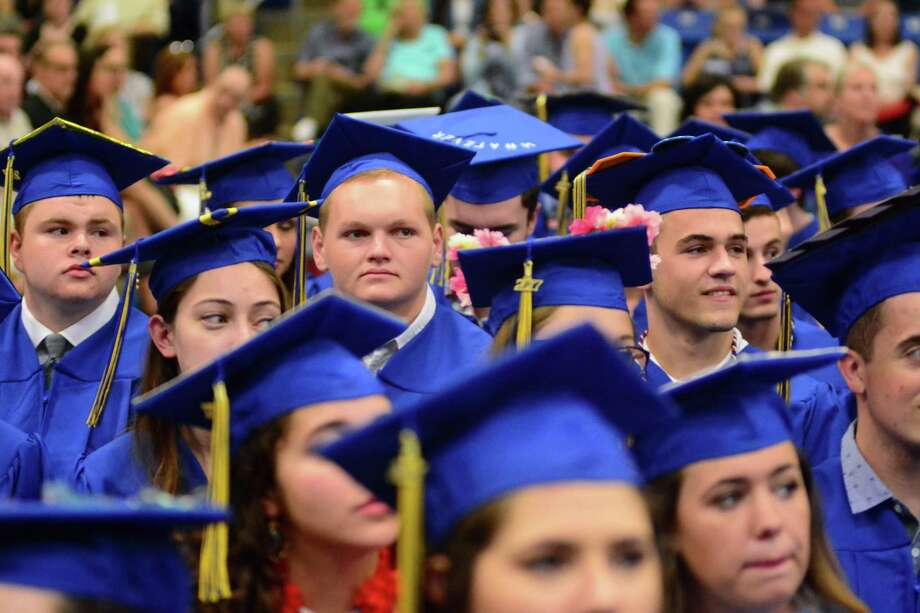 Brookfield High School held it's Graduation ceremony at Western Connecticut State University on Saturday June 24, 2017. Photo: Lisa Weir, For Hearst Connecticut Media / The News-Times Freelance