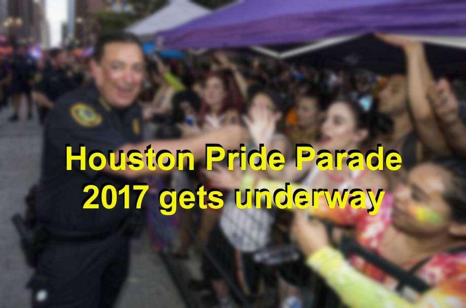 The Houston Pride Parade gets underway at 7 p.m. Saturday, June 24, 2017. Photo: Brett Coomer / Houston Chronicle
