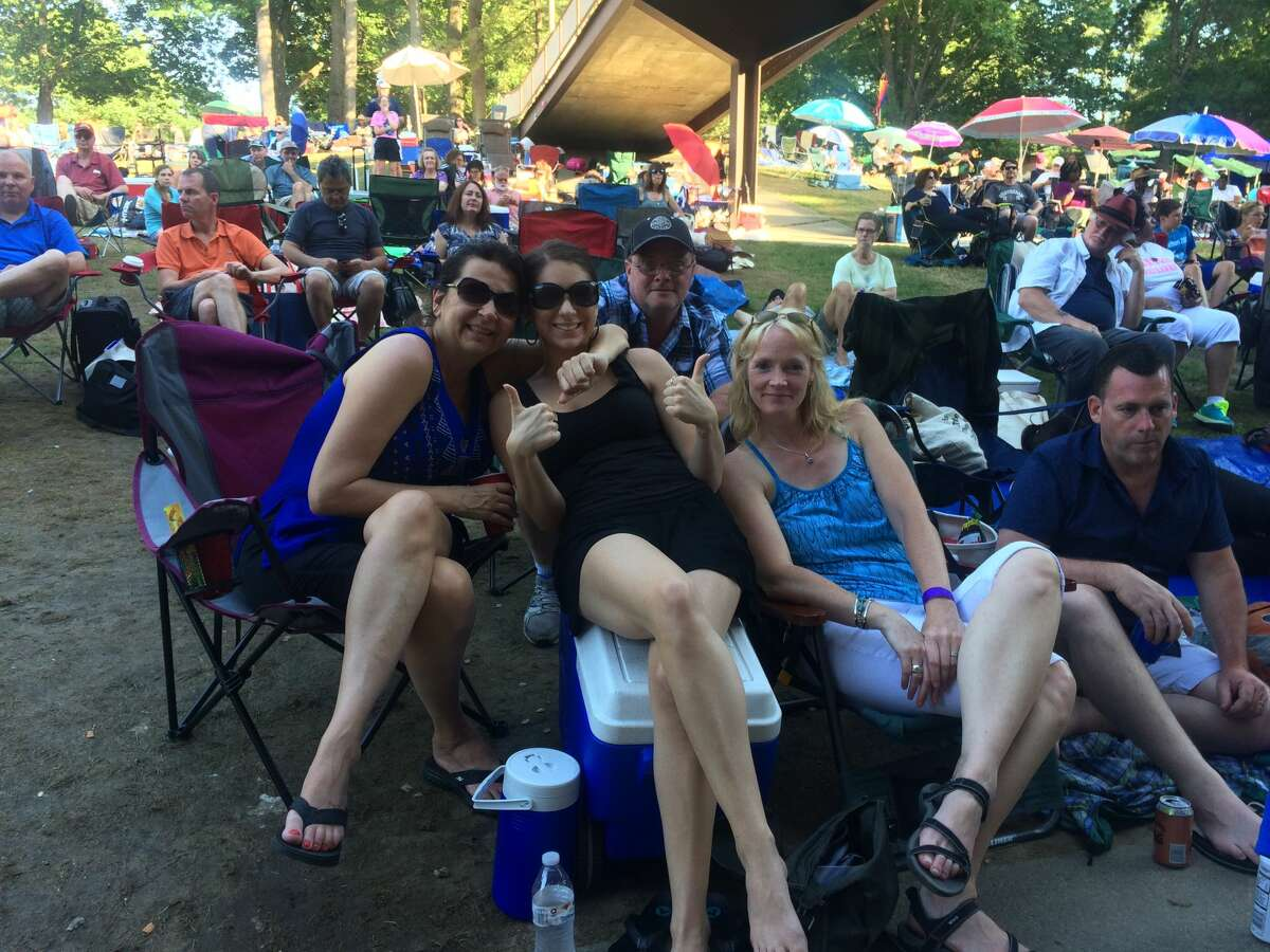 The Freihofer's Jazz Festival at SPAC in Saratoga Springs won't happen this summer, meaning no scenes like this from 2017. (Times Union file photo.)