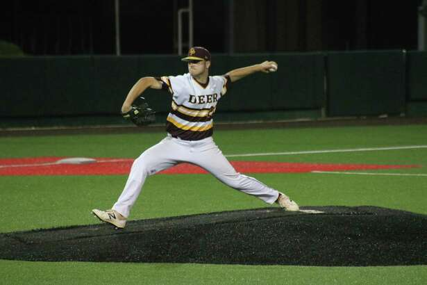 Southpaw Peyton Sherlin garnered the district MVP honor by the coaches after going 6-0 with an ERA of 0.00. It marks the third straight season that a Deer Park player has been named MVP.