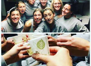 These photos that appeared on Facebook in December documented drinking parties involving recruits and training officers that were alleged to take place inside the State Police Academy last year.