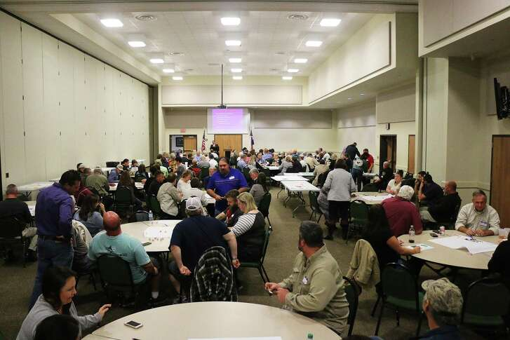 More than 175 residents signed in at the November 2016 meeting and participated in planning the future of Dayton.
