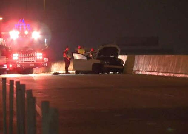 1 dead in 3-car Katy Freeway wreck