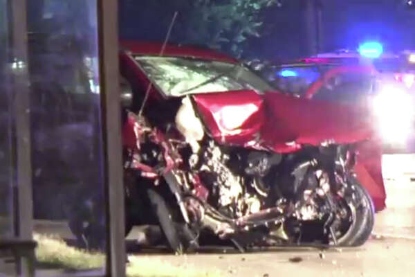 A female driver died early Saturday morning after being thrown from her vehicle following a wreck in northwest Harris County, according to the sheriff's office. Shortly after the crash, another driver was arrested for speeding through the crime scene and almost striking deputies.