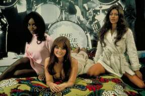 "Marcia McBroom, Dolly Read and Cynthia Myers in Ruus Meyer's ""Beyond the Valley of the Dolls"" (1970), written by Roger Ebert."