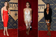 Continue clicking to see the celebrities and models of the MAXIM Hot 100 2017 party on Saturday, June 24,2017.