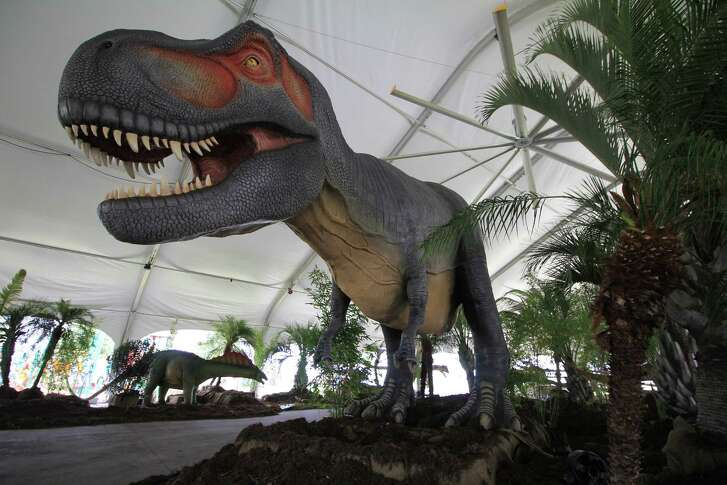 Dinos Alive is open at Moody Garden. Details: www.moodygardens.org.