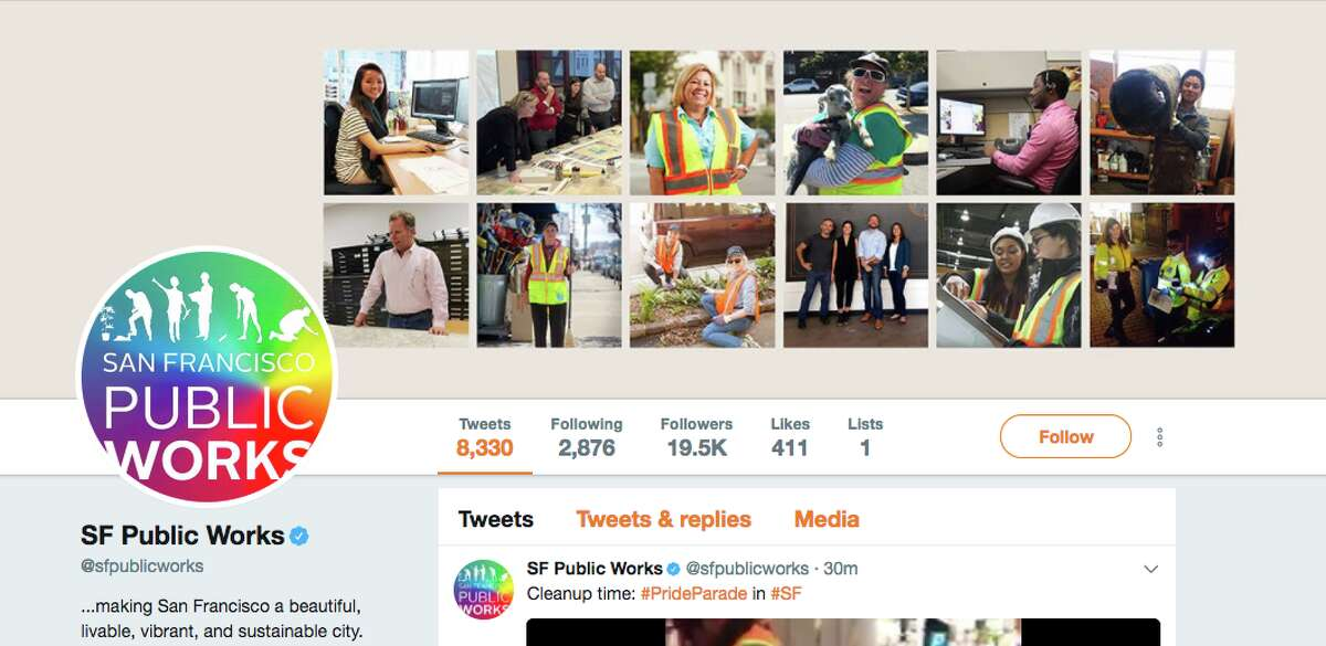 Public agencies in San Francisco updated their logos in honor of the 47th annual Pride Parade.