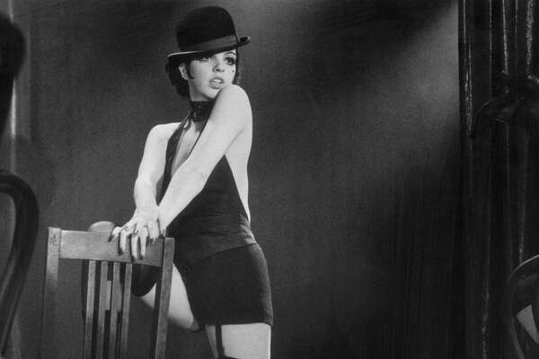 Liza Minnelli in Cabaret directed by Bob Fosse.