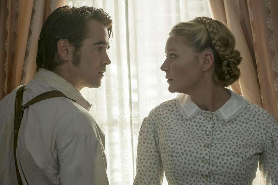 "Colin Farrell and Kirsten Dunst in ""The Beguiled."" Photo: Ben Rothstein, Associated Press"