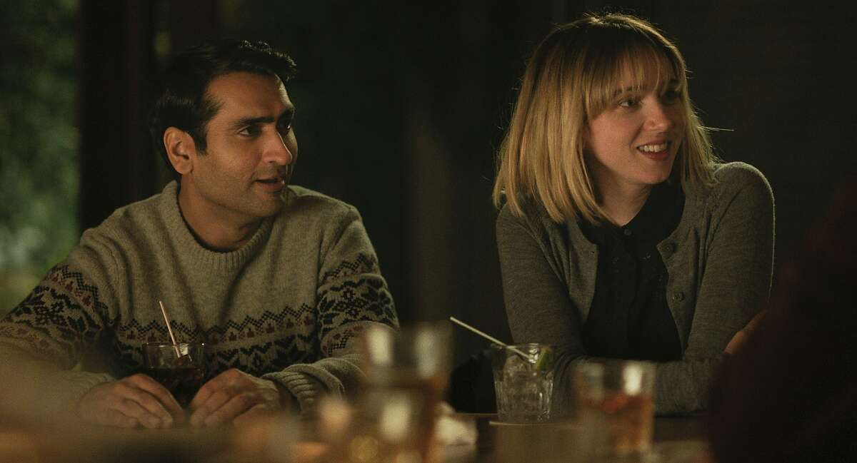 This image released by Lionsgate shows Kumail Nanjiani, left, and Zoe Kazan in a scene from,