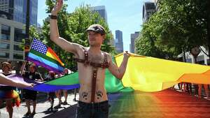 Scenes from the Seattle Pride Parade, Sunday, June 25, 2017.