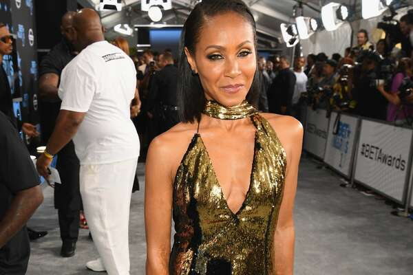 LOS ANGELES, CA - JUNE 25:  Jada Pinkett Smith at the 2017 BET Awards at Staples Center on June 25, 2017 in Los Angeles, California.  (Photo by Paras Griffin/Getty Images for BET)
