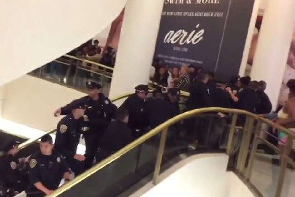 The San Francisco Westfield Mall closed early after an incident that drew a heavy police response.