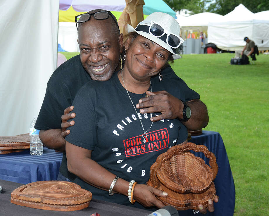 The Norwalk Art Festival was held at Mathews Park on June 24 and 25, 2017. The juried fine art and fine craft festival included performing artists, an international food court, and activities for kids. Were you SEEN? Photo: J.C. Martin / Connecticut Post