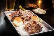 Bar-BQ in Stamford offers pork belly, smoked chicken, beef brisket, and smoked turkey.