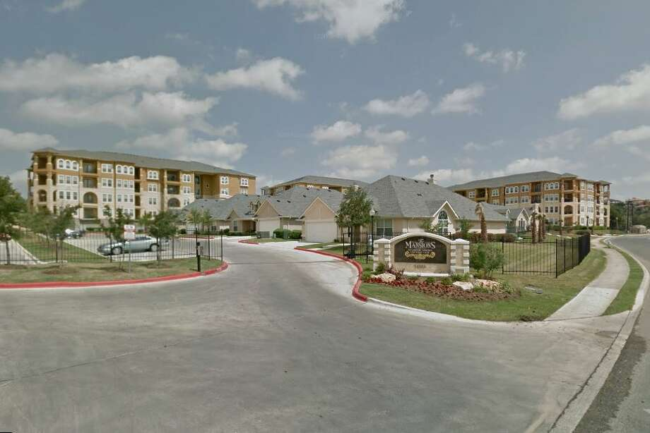 The 335-unit Mansions at Canyon Springs in Stone Oak is one of three North Side apartment complexes that have been purchased for a combined $115.8 million by Bluerock Residential Growth REIT. Photo: Google Street View