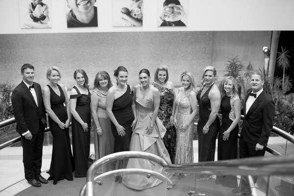 Crystal Ball:Austin Moffit, from left, Crystal Foster, Julie Griffis, Jill Sparks, Kate Williamson, Lindsey Navarrete, Cressinda Hyatt, Kelli Woodside, Jody Saulsbury, JaLynn Hogan, and Stephen Beal