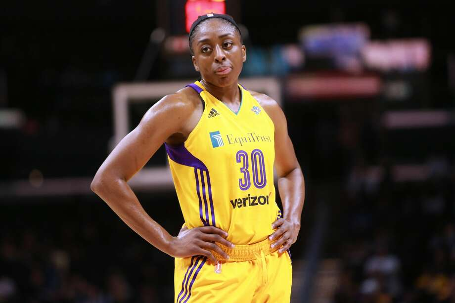 ESPN THE MAGAZINE'S 2017 BODY ISSUENneka Ogwumike, Los Angeles Sparks Photo: Leon Bennett/Getty Images