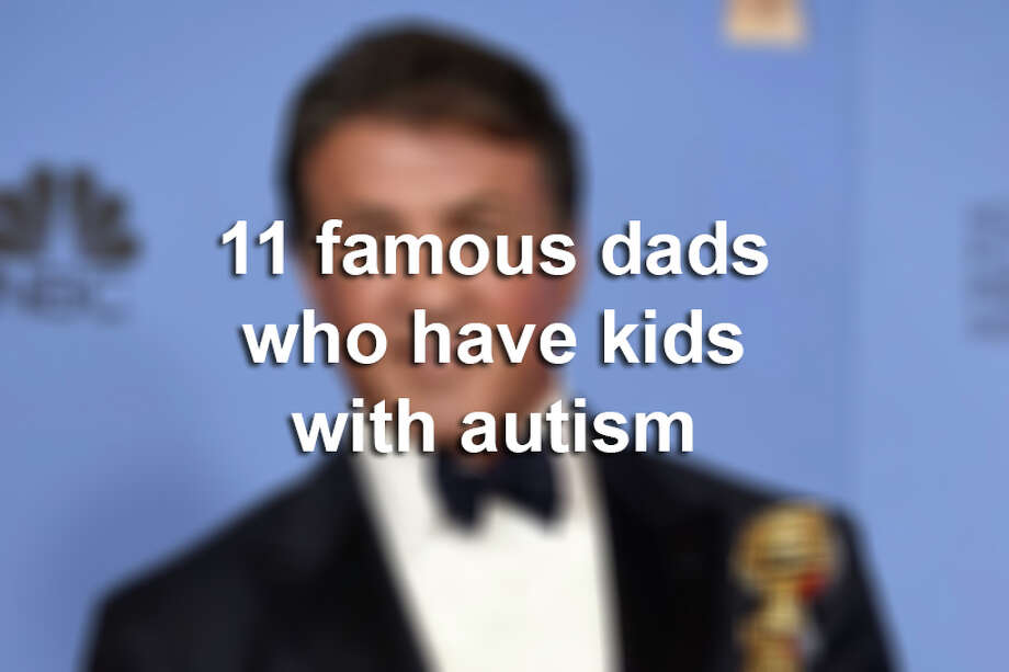 Click through this gallery to see 11 famous dads who have kids with autism. Photo: Jordan Strauss/Associated Press