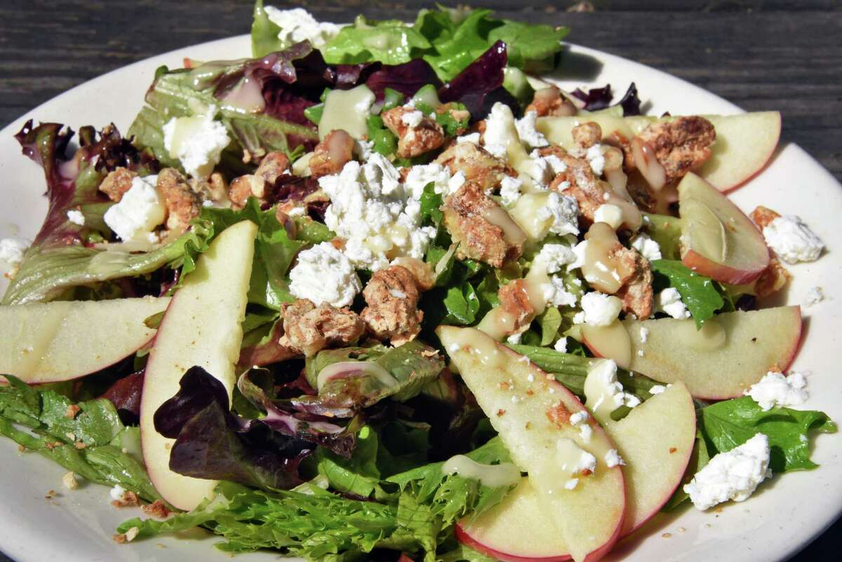 The Lucy salad at Comfort Kitchen in the Saratoga Marketplace on Broadway Friday May 12, 2017 in Saratoga Springs, NY.