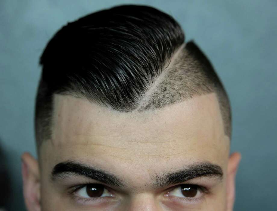 Houston Astros starting pitcher Lance McCullers Jr. shows off his hairstyle. Photo: Elizabeth Conley /Houston Chronicle / © 2017 Houston Chronicle