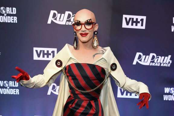 Sasha Velour attends RuPaul's Drag Race Season 9 finale party on June 23, 2017 in New York. / AFP PHOTO / ANGELA WEISSANGELA WEISS/AFP/Getty Images